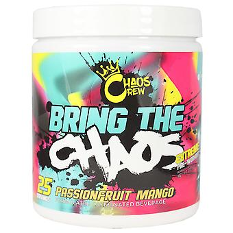 Chaos Crew Bring The Chaos Pre-Workout Passionfruit Mango 372g
