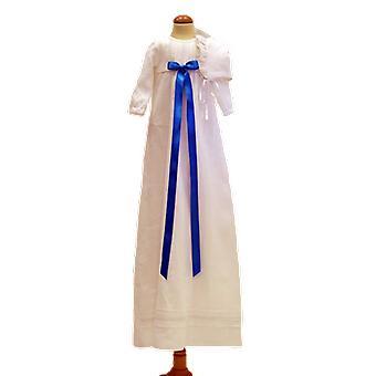 Dopklänning Grace Of Sweden, Turkos Rosett Och Dophätta  Tr.v.l