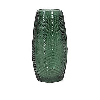 Florero de luz y vida 15x30cm Cabril Vidrio Verde