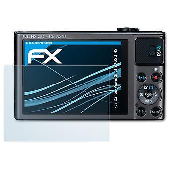 atFoliX Verre film protecteur compatible avec Canon PowerShot SX620 HS 9H Hybride-Verre