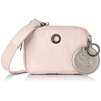 Mandarin Duck Mellow Leather Strap Pink Women's Bag (Rose Metal) 6x12x18 cm (W x H x L)