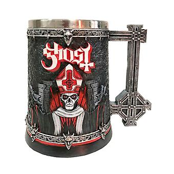 Ghost Tankard Papa Emeritus III Summons Band Logo new Official Boxed