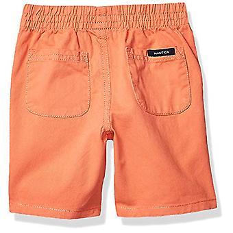 Nautica Boys' Little 2 Pieces Shirt Shorts Set, Blue Print, 6
