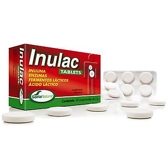 Soria Natural Inulac Tablets 30 Tablets