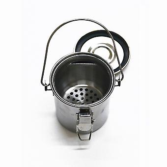 Stainless Steel Paint Brush Washer with Lid & Handle