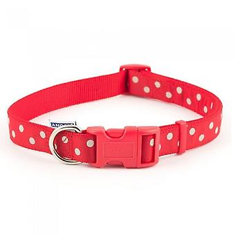 Ancol Vintage Polka Pet Collar