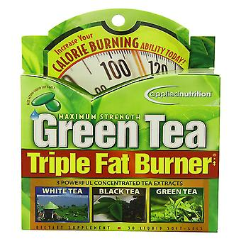 Applied nutrition green tea fat burner, liquid soft-gel, 30 ea