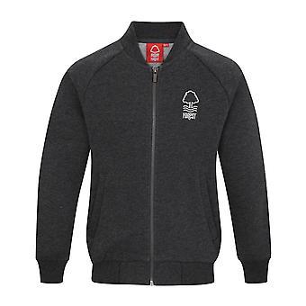 Nottingham Forest FC Official Football Gift Boys Retro Varsity Baseball Jacket