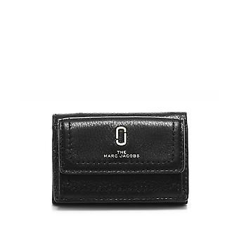 Marc Jacobs Mini Trifold Leather Wallet
