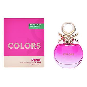 Women's Perfume Colors Pink Benetton EDT (50 ml)