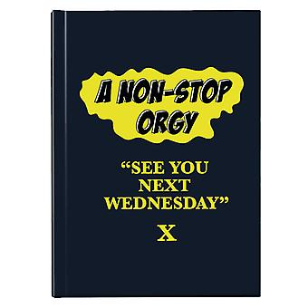 American Werewolf In London See You Next Wednesday Hardback Journal