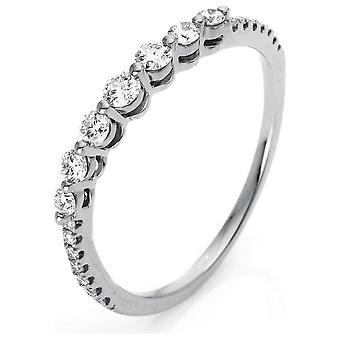 Diamond Ring Ring - 18K 750/- White Gold - 0.33 ct. - 1N575W852 - Ring width: 52