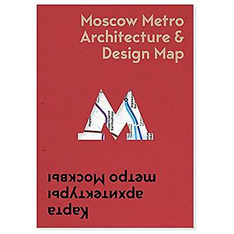 Moscow Metro Arch & Design Map by Nikolai Vassiliev - 97819120186