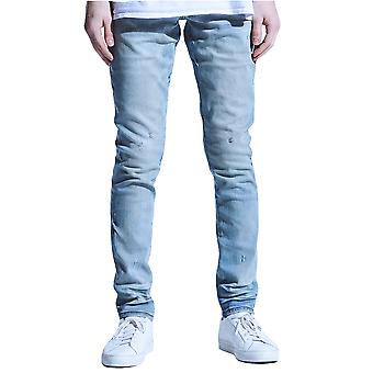 Embellish Culver Standard Denim Jeans Light Indigo Wash