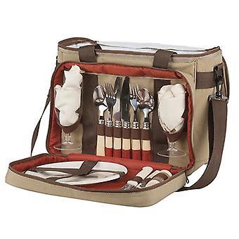 Rovin Rovin Deluxe Brand Picnic Bag w/ Utensils