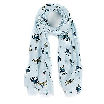 At Home In The Country Polyester Twill 70cm x 190cm Scarf - Horse Lovers
