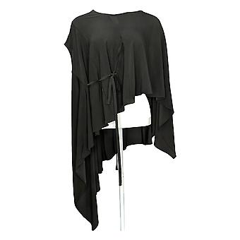 Women with Control Women's Top Jersey Knit Convertible Black A287100