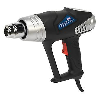 Sealey Hs103K Hot Air Gun Kit 2-Speed 350/600