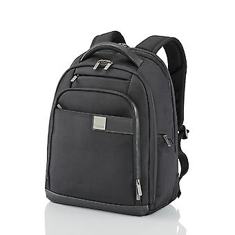 TITAN Power Pack Mochila 35 cm expandible, Negro
