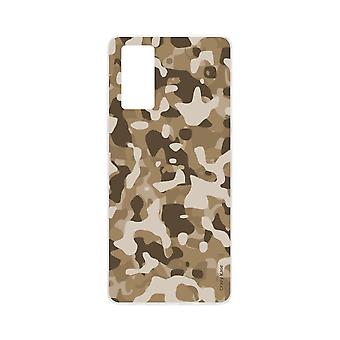 Hull For Samsung Galaxy S20 Flexible Desert Military Camouflage