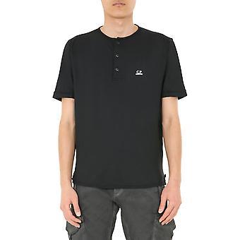 Compañía C.p. 08cmts296a005689g999 Men's camiseta de algodón negro