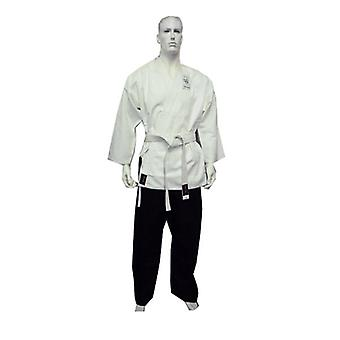 Dragon Karate Salt And Pepper Uniform 8 Oz