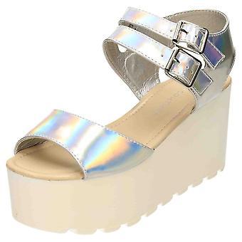 Koi Footwear High Heel Sandals Cleated Flatform Wedge Shoes