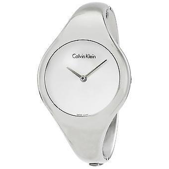 Calvin Klein K7G2S116 Bare Silver Dial Stainless Steel Ladies Watch