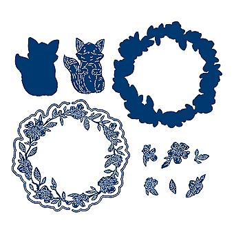 Tattered Lace Freddie Fox Die Set