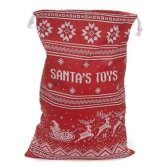 Santa's Toy Bag - Reusable Christmas Gift Bag