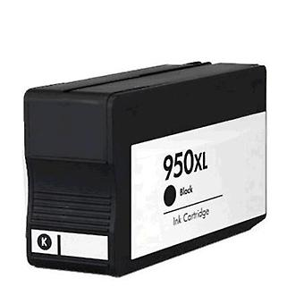 RudyTwos Replacement for HP 950XL Ink Cartridge Black Compatible with Officejet Pro 8600, 8600+, 8100, 8610, 8620, 8630, 8640, 8660, 251dw, 276dw