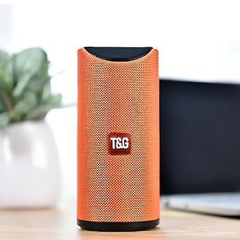 T & G TG-113 Wireless Soundbar Speaker Wireless Bluetooth 4.2 Speaker Box Orange