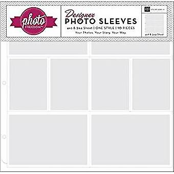 Echo Park Photo Sleeves 4x6 Inch & 3X4 Inch