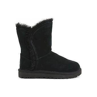 UGG - Shoes - Ankle boots - FLUFF_HIGH LOW_1103746_BLACK - Women - Schwartz - EU 40