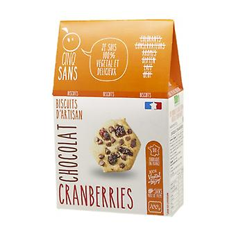 Biscuits Cranberries Chocolat bio 100 g