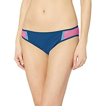 adidas Women's Amphi Hipster Bikini Bottoms, Legend Marine/Real Magenta/Shock...