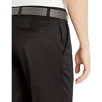 Essentials Men's Standard Straight-Fit Stretch, Black, Size 35W x 29L