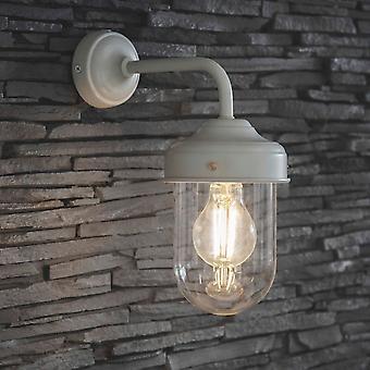 Lumière de mur d'Exeterior de commerce de jardin dans le blanc de Lily