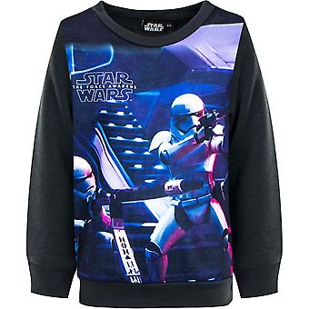 Star wars boys jumper sweatshirt kids 'the force awakens' stw1053jum