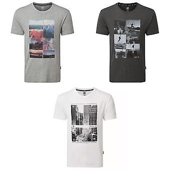 Dare 2B Miesten Token Graafinen T-paita