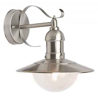 BRILJANT lamp Arto buitenwandlamp opknoping roestvrij staal | 1x A60, E27, 60W, g.v. normale lampen n. ent. | IP-bescherming: 44