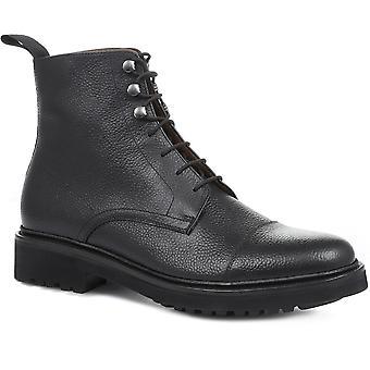 Jones Bootmaker Mens Kit Goodyear Gelaste Lederen Lace-Up Boots