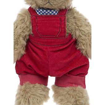 Alice's Bear Shop Cobby Dungaree Red