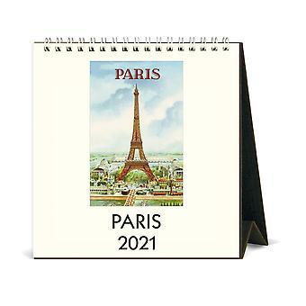 Cavallini & Co Paris Desk Calendar 2021