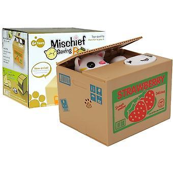 Unfug sparen Box süße Kitty Geld Box Sparschwein