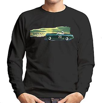 Austin Healey 20 Green British Motor Heritage Men's Sweatshirt