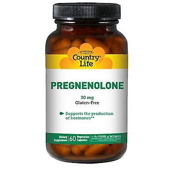Country Life Pregnenolone, 30 MG, 60 Korkkia
