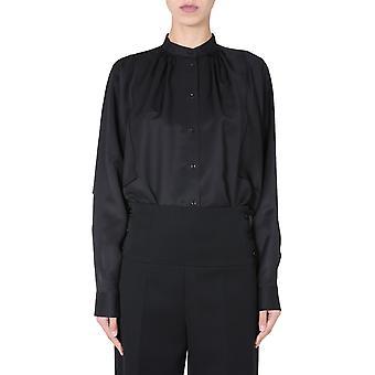 Jil Sander Jsxr601305wr321700001 Women's Black Viscose Shirt