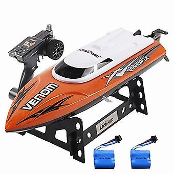 2.4g 4ch Remote Control Rc Boat -speedboat's Toy  Water Speed Boat, Summer