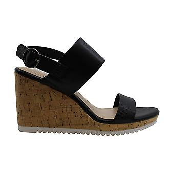 Alfani Women's Chaussures Tillee Leather Peep Toe Sandales plate-forme décontractée